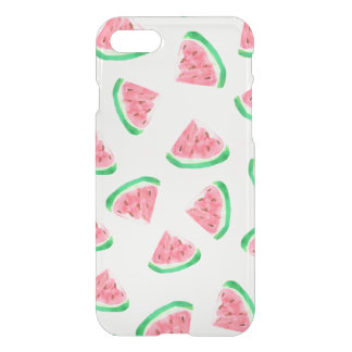 Clear Tropical Summer Watermelon iPhone 7 Case