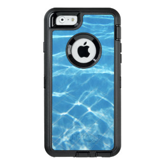 Clear, Turquoise Water OtterBox Defender iPhone Case