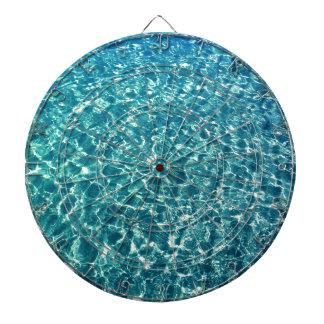 Clear Water Blue Dartboard