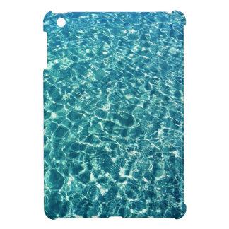 Clear Water Blue iPad Mini Case