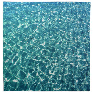 Clear Water Blue Napkin