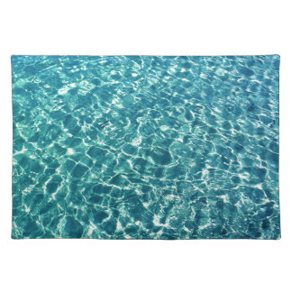 Clear Water Blue Placemat