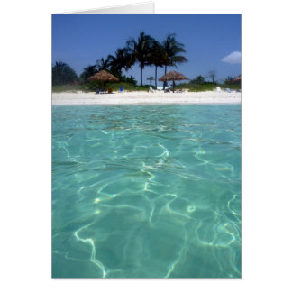 clear waters bahamas card