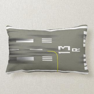 Cleared to Land Runway Pillow, JFK 13/31 Lumbar Pillow
