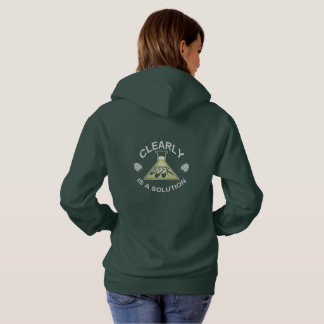 Clearly, Beer is a solution Hoodie