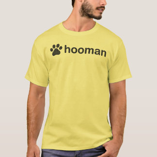Clearly Hooman Dog Talk Simple T-Shirt