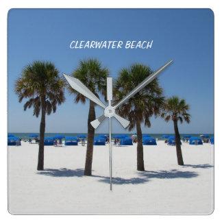 Clearwater Beach Florida Clock