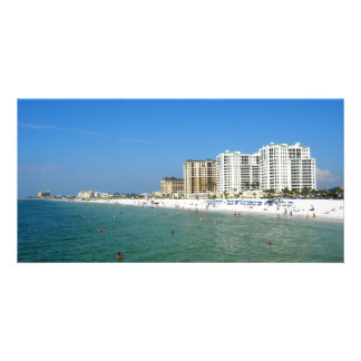 Clearwater Beach Personalized Photo Card