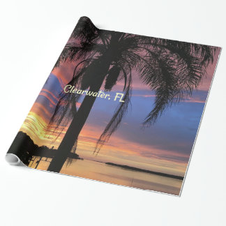 Clearwater, Florida landscape photo Wrapping Paper