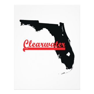 clearwater Florida Personalized Letterhead
