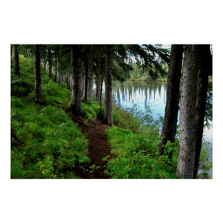 Clearwater River Trail Poster