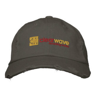 Clearwave Recording Studio Hat Embroidered Baseball Cap
