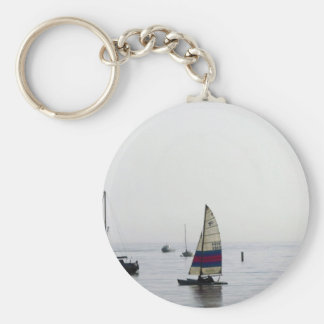 Cleethorpes early morning sailing keychain