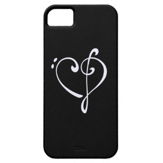 Clef Heart iPhone 5 Cover