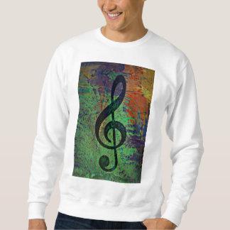Clef Music Style Sweatshirt