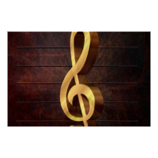 Clef Poster