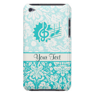 Clef triple turquoise
