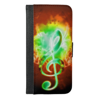Clef with water wings iPhone 6/6s plus wallet case