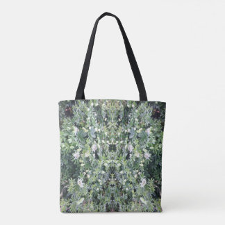 Clematis 713 Flower Mirror Tote Bag