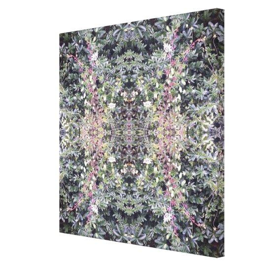Clematis 714 Flower Photo Fractal Canvas medium