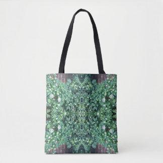 Clematis 718 Flower Fractal Tote Bag