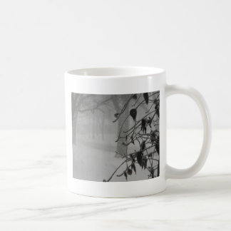 Clematis and Snow fall during a blizzard. Coffee Mug
