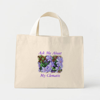 Clematis Bag-customize Mini Tote Bag
