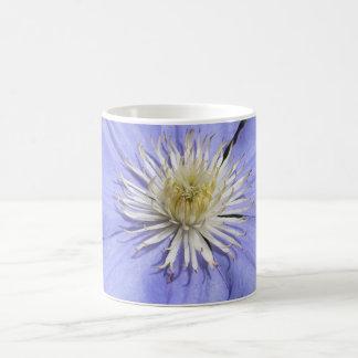Clematis Classic White Coffee Mug