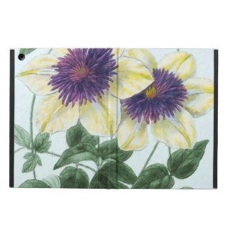Clematis Flower Art Case For iPad Air