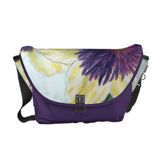 Clematis Flower Art Commuter Bags