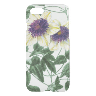 Clematis Flower Art iPhone 8/7 Case