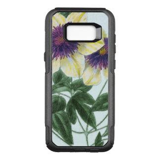 Clematis Flower Art OtterBox Commuter Samsung Galaxy S8+ Case