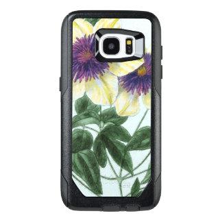 Clematis Flower Art OtterBox Samsung Galaxy S7 Edge Case