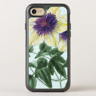 Clematis Flower Art OtterBox Symmetry iPhone 8/7 Case