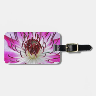 Clematis Flowers Flower Plant Garden Luggage Tags