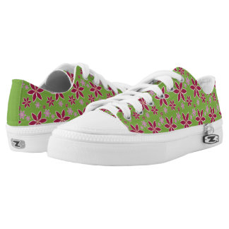 Clematis: Flowers Low Top Shoes