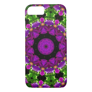 Clematis Kaleidoscope iphone8/7 Barely There Case