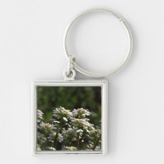 Clematis Key Chain