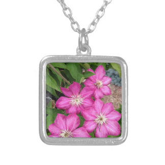 Clematis Personalized Necklace