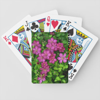 Clematis Bicycle Poker Deck