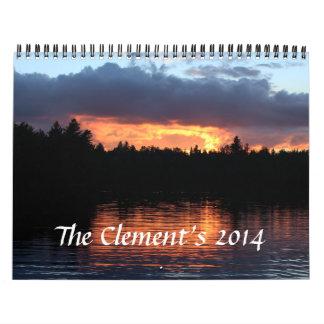 Clement Calendar 2014