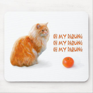 clementine love mouse pad