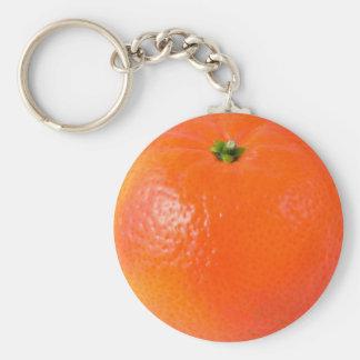 Clementine Orange Keychain