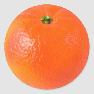 Clementine orange Sticker