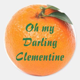 clementine stickers