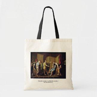 Cleombrotus Sent Into Exile By Leonidas Ii Budget Tote Bag