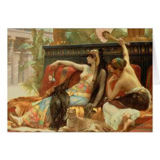 Cleopatra ... Alexandre Cabanel ... vintage art Card