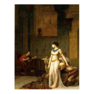 Cleopatra and Caesar Postcard