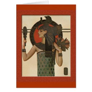 Cleopatra by Leyendecker Card