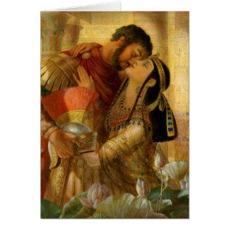 Cleopatra & Marc Antony by Leyendecker Card